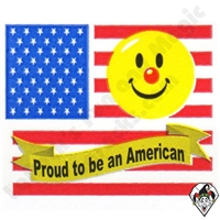 Proud to be American Stickers 250ct