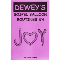 Books & Videos | Books | Gospel Balloon Routines #4