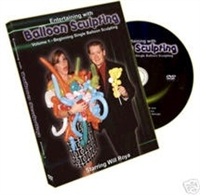 Videos, DVD, & CDs | Balloon Sculpting Volume 1