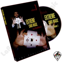 Extreme Card Magic Volume 1 by Joe Rindfleisch  DVD