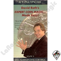 David Roth Basic-Intermediate Coin Magic Volume 2