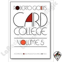 Card College #5 by Roberto Giobbi