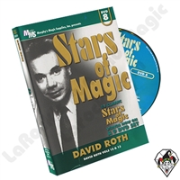 Stars of Magic Vol 8: David Roth DVD