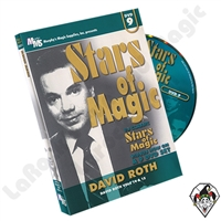 Stars of Magic Vol 9: David Roth DVD
