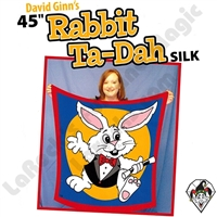 David Ginn's 45 Inch Rabbit Ta-Dah Silk