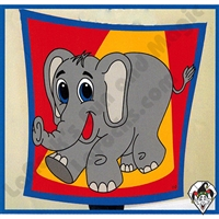 David Ginn's 18 Inch Elephant Silk