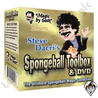 Magic | Sponge Effects | Sponge Balls | Media For Sponge Balls | DVD with Sponge Ball Tool Box