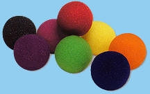 Magic | Sponge Effects | Sponge Balls | Super Soft Sponge Balls | Super Soft Sponge Ball Ultra Brite Each | Yellow 2 inch