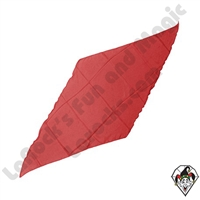 Diamond Cut Silks Red 18 inch