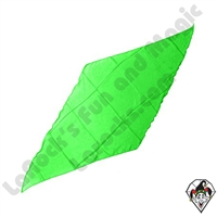 Diamond Cut Silks Green 18 inch