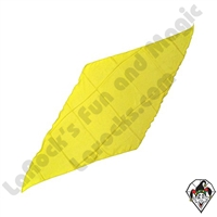 Diamond Cut Silks Yellow 12 inch