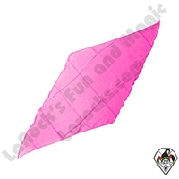 Diamond Cut Silks Hot Pink 12 inch
