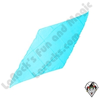 Diamond Cut Silks Turquoise 12 Inch
