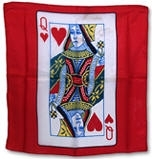 New Stuff | 11-22-11 | 11-23-11 | SILK PRINTED | Card Silks 18 inch | Queen