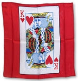New Stuff | 11-22-11 | 11-23-11 | SILK PRINTED | Card Silks 18 inch | King