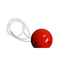Clown Nose Red with String