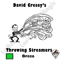 Throw Streamers Green Cresey