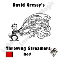 Throw Streamers Red Cresey