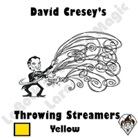 Throw Streamers Yellow Cresey