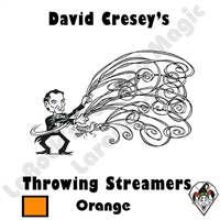 Throw Streamers Orange Cresey