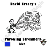Throw Streamers Blue Cresey