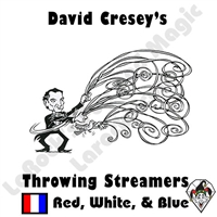 Throw Streamers Red White Blue Cresey