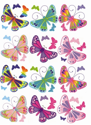 Butterfly Tattoos 1 Dozen