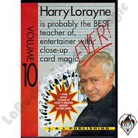 DVD Harry Lorayne Volume #10