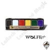 Face-Painting | Wolfe | 6 Color Palettes | 6 Pack Essential Color Palette