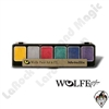 Face-Painting | Wolfe | 6 Color Palettes | 6 Pack Metallic Color Palette