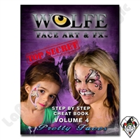 Face-Painting | Wolfe | Books | Wolf Pretty Faces Face Painting Book