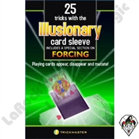 25 Tricks With The Illusionary Card Sleeve Book