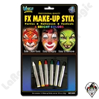 Face-Painting | Wolfe | Face Painting Crayons | Make Up Stix Bright Colors