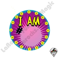 Stickers | Angel Stickers | I Am # Sticker