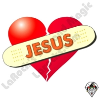 Jesus Band Aid Stickers