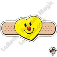 Stickers  | Angel Stickers | Smiley Heart Bandage Stickers