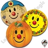 Smiley Clown Fall Collection Stickers