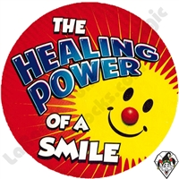 Healing Power Of A Smile Sticker