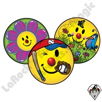 Smiley Spring Sticker