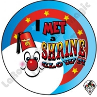 I Met A Shrine Clown Sticker