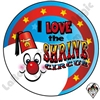 I Love The Shrine Circus Sticker