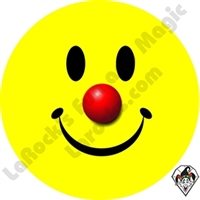 Smiley Clown Small Sticker 1 inch