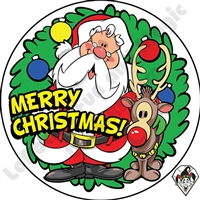 Merry Christmas Stickers by Angel