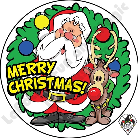 Christmas Stickers.Merry Christmas Stickers By Angel