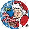 I Met Mrs. Claus Stickers by Angel