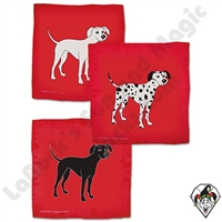 Dalmatian Silks 18 inch Set of 3