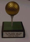 Jokes & Novelties | Jokes | Golfer's Golden Award