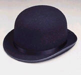 Clowning | Apparel | Hats | Derby Black Large Hat