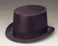 Clowning | Apparel | Hats | Permasilk Top Hat