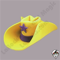 Clowning | Apparel | Hats | Jumbo 30 Gallon Cowboy Hat | Yellow